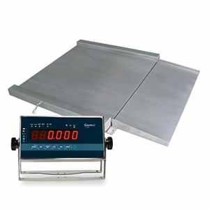 Balance de poche d'acier inoxydable de métrologie légale RGI 1200(1500kgx500g) (120x 120cm)