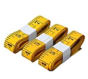 Itemer 4pcs doux ruban à mesurer à coudre Tailor Tissu Règle 300cm/299,7cm, deux Balances