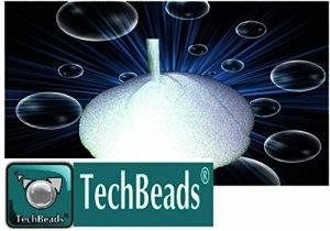25Kg MV5techbeads microsphères de verre 300–400microns pour sablage décapants et finition d'excellente qualité durs tenaci + 6.0mohs sableuse