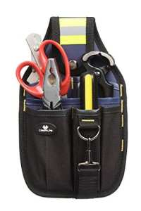 Case4Life Pochette à outils porte-outil Accessoire de ceinture parfait pour Bricolage / électricien / plombier / constructeur / menuisier – Garantie à vie