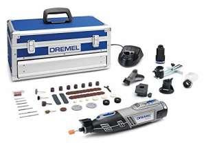 Dremel F0138220JK Outil multi-usage sans fil Li-Ion, 12 V, Gris