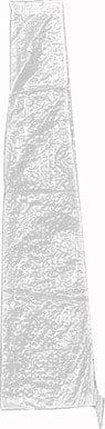 Sienagard4 703958 Housse Transparente pour Parasol Tissu/Polyester/Transparent 134 17 x 29 cm