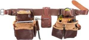 Occidental Leather 5080DB XXXL Ceinture porte-outils à 2 sacs TailleXXXL