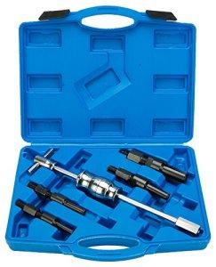 FreeTec 5pièces intérieur Extracteur Roulement outil extracteur avec 1Marteau à inertie et 4auszieher 10mm à 32mm