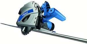 Scheppach 5901803905 Scie Plongeante Pl45 + 2 Rails, Bleu