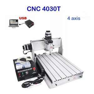 4axes CNC routeur Graveur machine de gravure 3040t illustrations de fraisage Crafts Excellent