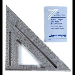 Équerre rapide Swanson S010117,8cm, Metric (25 cm)