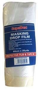 Feuille SupaDec Décoration de protection Y compris Masking Tape 60 cm
