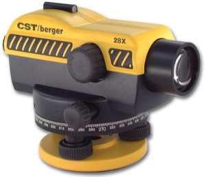 CST/Berger 55-slvp28nd 28x Grossissement kit de niveau automatique