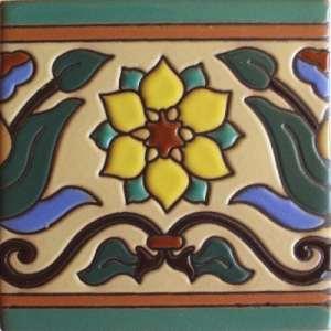 Fine Crafts & Imports 4.2×4.2 carreaux ronce malibu Argile