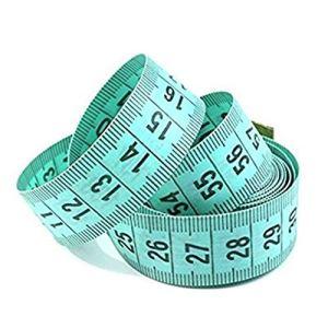 LCsndice Règle de Mesure du Corps Couture Tailor Tape Plate Ruban à mesurer Mignon vêtements de Mesure règle Douce 1,5 m