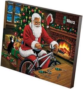 Wera 05135999001 Calendrier de l'Avent 2018, 24 Pièces