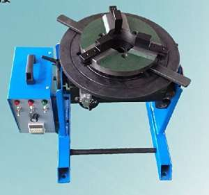 30 kg welding positioner with Time-controller & lathe chucks