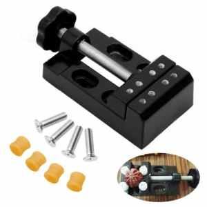 mine Étau perceuse à colonne Pince Noix Étau outils de bricolage pour banc, polissage et de gravure (Noir)