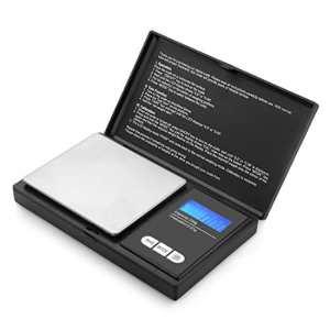 Zukvye balance numérique de poche, (200g/0,01g) Portable balance numérique avec écran LCD rétroéclairé, Elite Balance numérique de poche 200x 0,01g, Mini balance numérique de balance