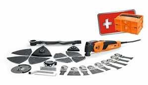 Fein 72294671000oszillierer/Multi Tool Set, FSC 500qsl Super Cut–Edition 2017, Oscillations 10000–195001/min, câble avec prise mâle 5m, 450W, 230V