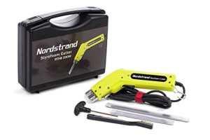 Fer à découper chauffant Nordstrand 200W pour Découpe Polystyrène + 2 Lames 1500mm & 200mm et Accessoires