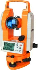 Johnson Level 40–6932 deux seconde Theodolite, Orange