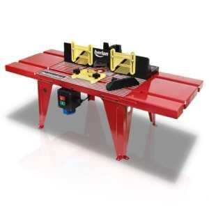 Table support pour défonceuse 230 V Berlan