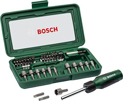 Bosch 2607019504 Coffret 46 pièces pour Tournevis