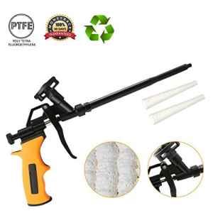 Pistolet à Mousse Polyurethane, ARTISTORE Pistolet à Mousse Expansive, Pistolet à Peinture pour Applications Intensives, Applicateur de Spray Extensible en Métal Calfeutrant