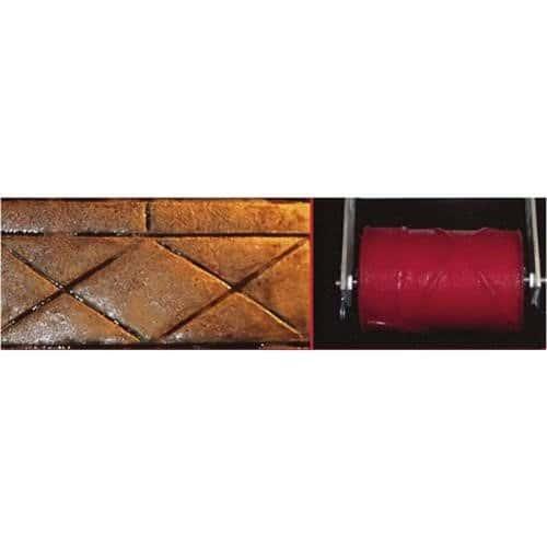 Marshalltown Redrr03ds interchangeables BR Outil avec cadre Diamant Ardoise, 20,3cm