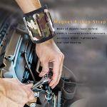 AIflyMi Bracelet Magnétique avec 6 Aimants Puissants,Our Les vis de Maintien, Clous, trépans de Forage