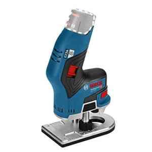 Bosch Professional affleureuse sans-fil GKF 12V-8 (sans batterie, 12 V, diamètre de fraise : 8 mm, carton)
