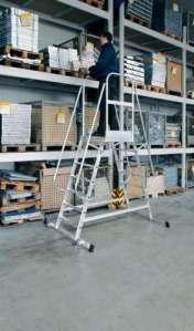 Panneaux en aluminium sur roulettes – 303206 6 positions
