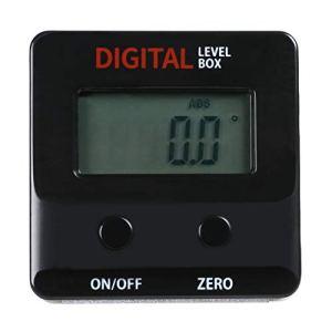 HHTEC Couteaux d'inclinaison Inklinomètre numérique Mini Bevel Box Mesureur d'angle Niveau à bulle Level Box Aimants intégrés