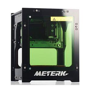 Meterk® Gravure Laser 1500mW Mini DIY Graveure Laser Bluetooth USB Sans fil Bluetooth4.0 pour IOS/Android/PC avec Alliage Shell Frame