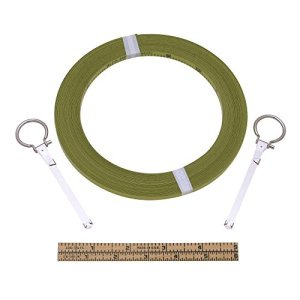 1/4 in. x 200 ft. Peerless Chrome Clad Replacement Surveying Tape
