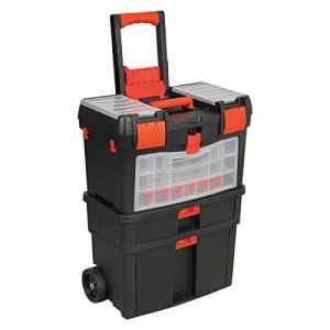 Generic. Box Box X à roulettes mécanique ICS Permet de tirer Long Coffre à outils tirer