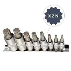 Multidents Douille Jeu de Clés M4 M5 M6 M8 M10 M12 M14 M16 à L'Intérieur de Multi-dent Embouts