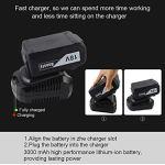 ANESTY – Clé à chocs électrique Sans Fil, Visseuse à Chocs Sans fil, Boulonneuse sans-fil, 240Nm 18V batterie Li-ion 3,0 Ah