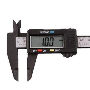 AnJieli Micromètre à Coulisse numérique en Fibre de Carbone pour écran LCD 150 mm/15,2 cm