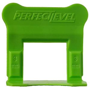 Perfect Level Pro – 1000 Clips (Bases) 3 Mm Perfectlevel Pro Croisillon Autonivelant Professionnel