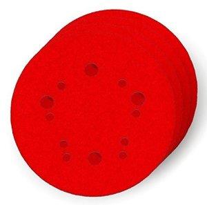 Diablo DCD050100H04G 12,7 cm Lot de 4 disques de ponçage orbitaux à trou universel 100 grains