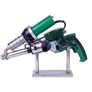 Huanyu Kits de pistolet de soudage à air chaud en plastique portatifs d'extrusion LST600B pour pistolet de torche de soudeuse pour le réservoir de membrane en plastique de PE PP (LST600B)