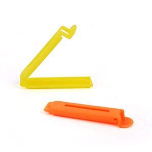 Ogquaton 5 joints en plastique d'aliments portatifs d'agrafe de cachet de phoques de thé de sacs de casse-croûte