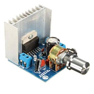 TDA7297 Version B 2 * 15 W Carte d'amplificateur audio numérique Dual Channel AC/DC 12V