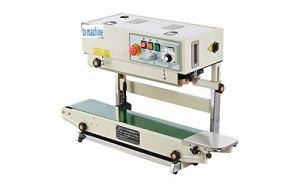 TX® Continuous Band Sealer Automatic Continuous Sealing Machine Vertical/Horizontal Sealing Sealer for PVC Membrane Bag Film 0-400℃ temperature control 6-15mm sealing width (110V/60HZ)