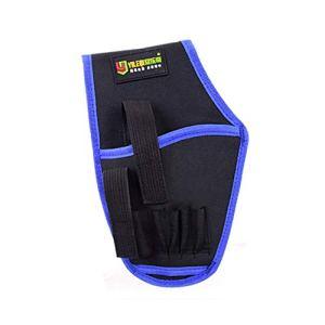 MachinYesell Porte-outil électrique taille sac à outils étanche sac à outils électricien Perceuse électrique sac à bandoulière étui de transport étui bleu