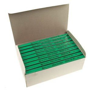 Rexel Blackedge 34322 Boîte de 72crayons de charpentier Verts