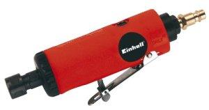 Einhell Boulonneuse pneumatique DSL 250/2 Set (Puissance 250 W, Régime 22.000 t/min, Livré en coffret avec jeu de 10 meules sur tiges)