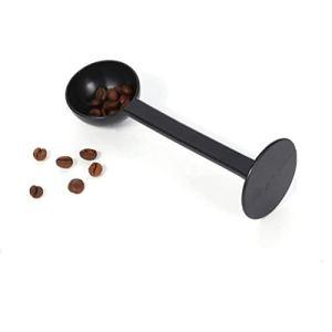 Momorain 2-en-1 expresso grain de café outils de cuillère à thé professionnel de mesure 10g bourrelet scoop tamper café thé cuisine outil