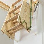 Dolle 'Click. Mini' Timber Échelle escamotable pliable (925X 600mm)
