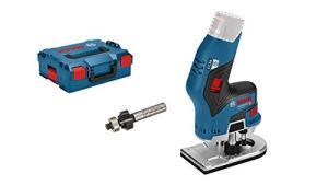 Bosch Professional 06016B0001 GKF 12V-8 Fraise à Bordure sans Batterie 12 V Diamètre de la Pince: 6 mm/8 mm