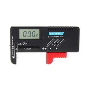 WEISHAZI BT168D Testeur de capacité de batterie numérique LCD pour piles AAA 9 V 1,5 V