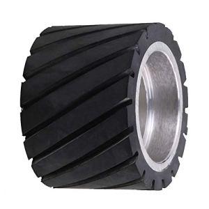 Broyeur de courroie en caoutchouc pour roulements Noir 7 x 5 cm